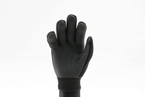 Ridemitt # 001 Neoprene Sharkskin Motorcycle Gloves, Black