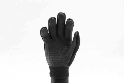 Ridemitt # 001 Neoprene Sharkskin Motorcycle Gloves, Grey