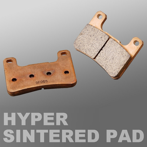 Hyper Sintered Brake Pad Set, (F), Yamaha YZF1000R