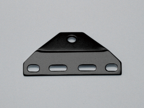 Bottom Mount Head Lamp Bracket, Black