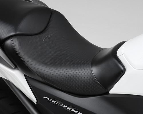 Cozy Seat Lite, Dimple Mesh Pattern, Black, Honda NC700X, NC750X