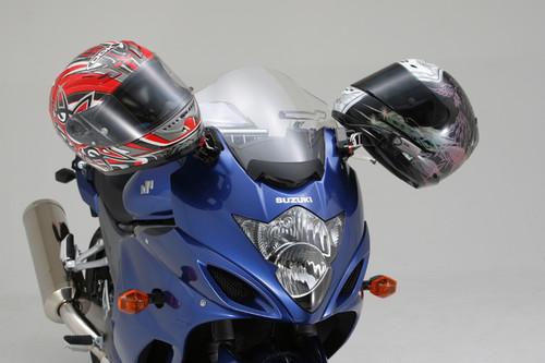 Helmet Holder Mirror Clamp, 1200mm, Suzuki GSX1300R Hayabusa 08-, Suzuki Bandit
