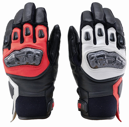 Henly Begins Carbon Short Gloves HBG-021 AW, AS/XL