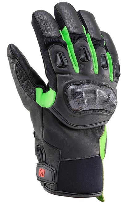 Henly Begins Carbon Short Gloves HBG-021 AW, GR/XL