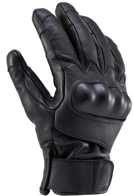 Henly Begins HBG-022 Cowhide, PRT Short Gloves,  BK/M