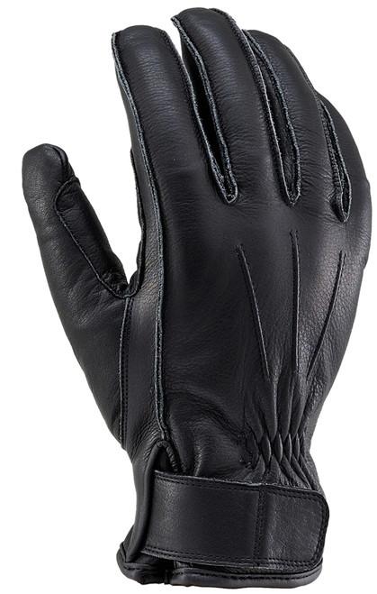 Henly Begins HBG-023 Cowhide, Outer Stitch Gloves, BK/M