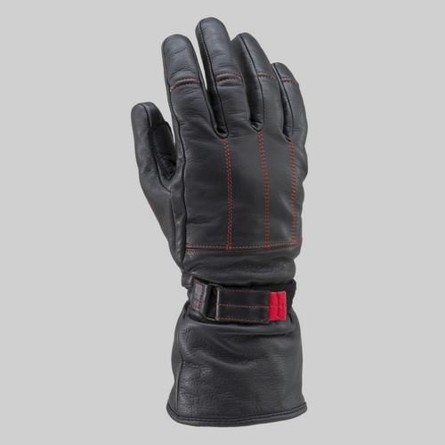 Henly Begins DH-614 Long Leather Gloves, BKRD M