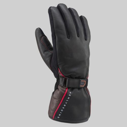 Henly Begins DS615 Glove, Combi, Cow Hide, BKBR M