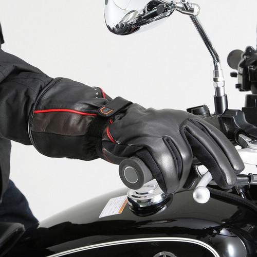 Henly Begins DS615 Motorcycle Gloves, Combi, Cow Hide, Black/Brown