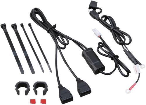 Daytona Motorcycle Power Supply USB 5V 2.1A, Universal, 2 Ports