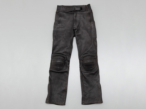 Henly Begins HB-R101 Riding Leather Pants, BK/LL