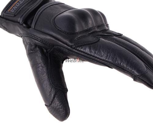 HBG-010 Goat Skin Gloves, Protection, Black
