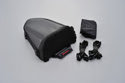 Seat Bag DH-708, Carbon, Black