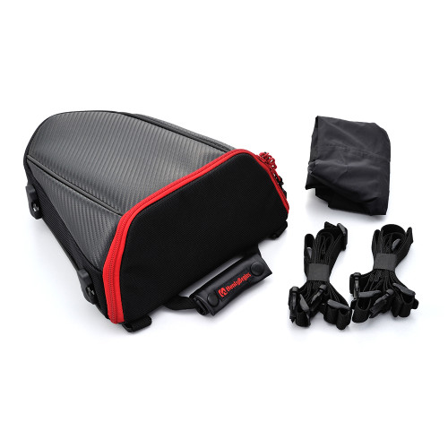 Henly Begins Seat Bag DH-708, Carbon, Red
