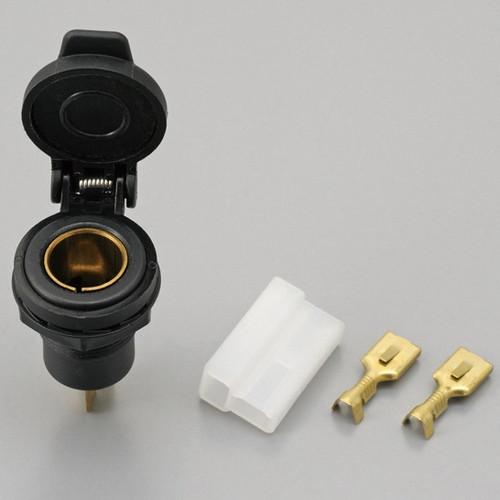Spatula Type Cigar Socket Plug (Hella), Female, 12V3A