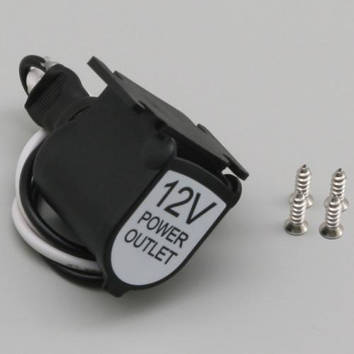 Cigar Socket with Dustproof Cap, 12V5A, A13-166