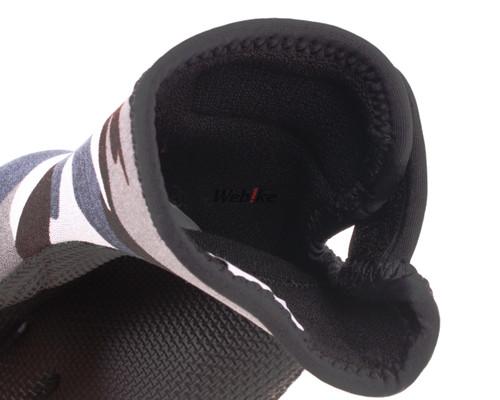 Ridemitt #003 Neoprene Winter Motorcycle Gloves, Grey/Camo
