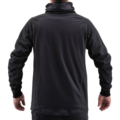 Henly Begins HBV-020 Windproof Inner Neck Warm, BK XL