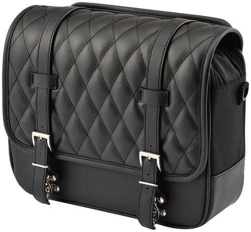 Henly Begins Saddle Bag 12L DHS-2, Black, Diamond