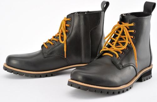 Henly Begins HBS-003 Short Boots BK, 25.0cm