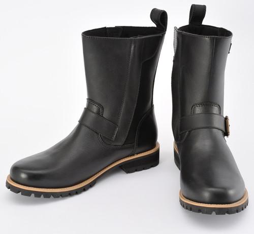 Henly Begins HBS-004 Engineer Boots BK, 25.0cm