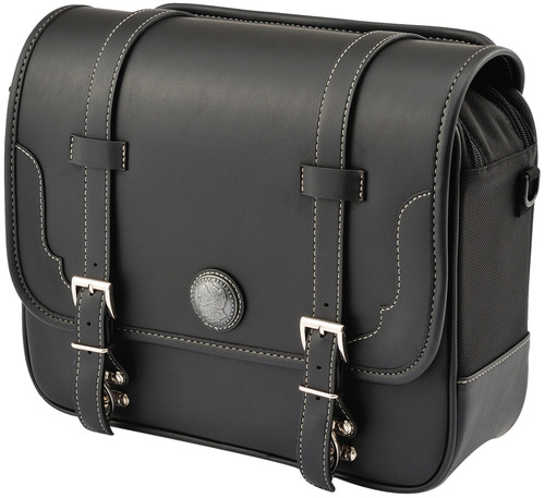 Henly Begins Saddle Bag 12L DHS-2, Black, Continental