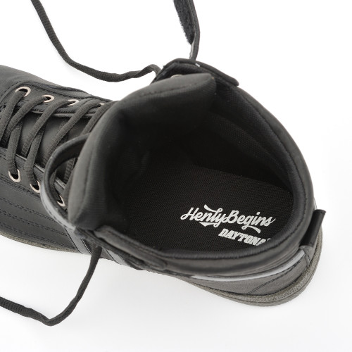 Henly Begins Motorcycle Riding Shoes, Black, HBS-001 SAFE Shoes