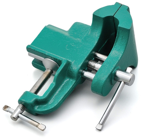 Mini Bench Vice 73mm Green