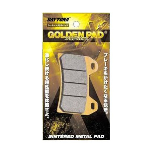 Golden Brake Pad Set, (F), Honda CRF1000L