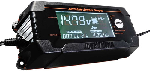 Battery Charger with LCD Display