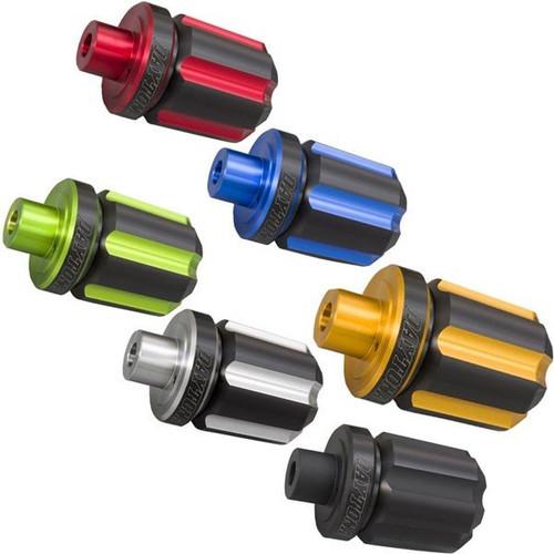 Premium Zone Bar End Caps, Plug, Groove Type, Honda CB125R, Kawasaki Z125 PRO, Suzuki GSX250R 2017