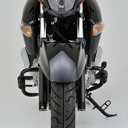 Engine Guard Kit, Black, Suzuki GSR250, GW250, Inazuma