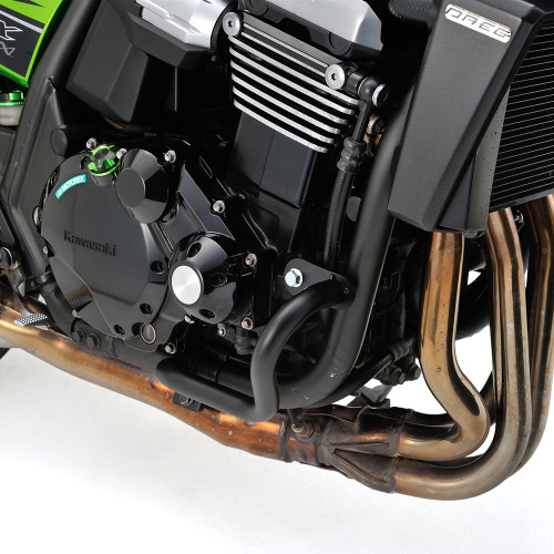 Engine Guard Kit, Black, Kawasaki ZRX1200