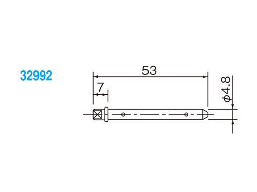 Brake Pad Pin, Stainless Steel