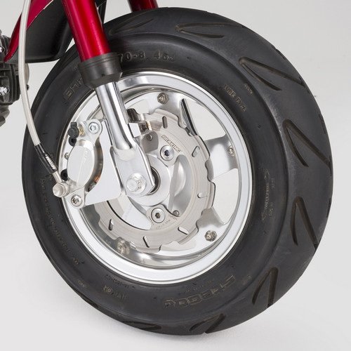 Aluminium Wheel, 5 spoke, Clear, 8 x 3.5J