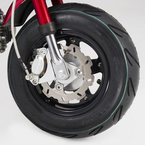 Aluminium Wheel, 5 spoke, Black, 8 x 3.5J
