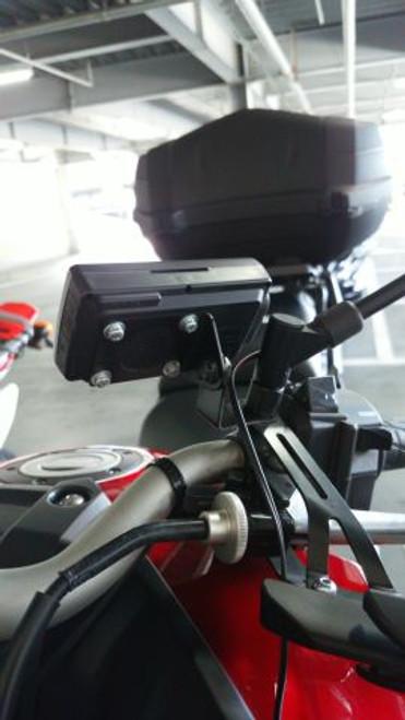 Moto GPS Radar Detector Mirror Mounting Bracket