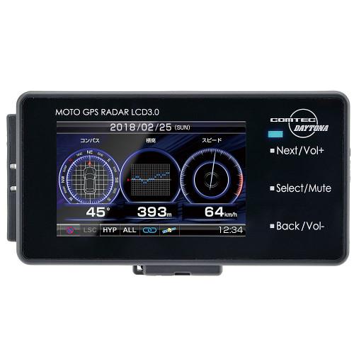 Daytona Moto GPS Radar Detector, LCD 3.0