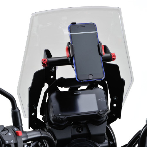 Screen Relocation Bracket, Accessory Bar, Suzuki V-Strom 250