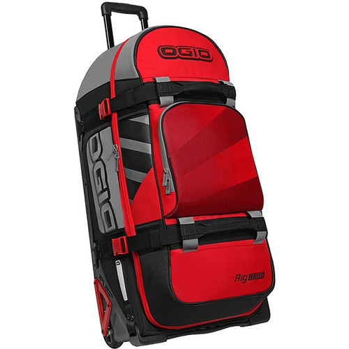 Ogio Rig 9800 Gear Bag Stoke, 160L, Travel Bag, Red/Hub
