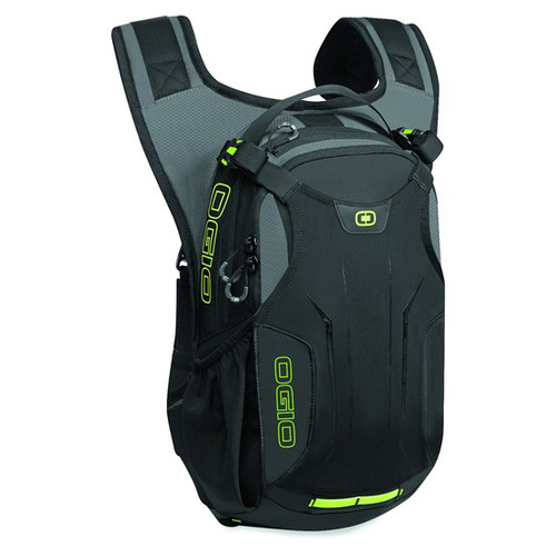 Ogio Baja 2L Hydration Pack has a 2 litre bladder and additional storage