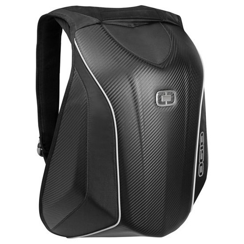 Ogio Mach 5 Motorcycle Backpack, in Stealth colourway, with No Drag Technology