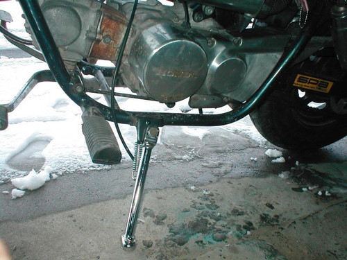 Side Stand, Chrome, Honda Jazz 50, Magna 50