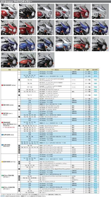 Daytona AR Breaker, Bikini Cowl (With Bracket) Honda CB1100