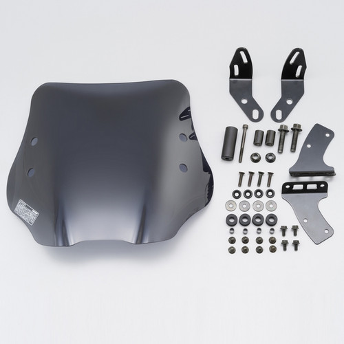 Windshield, HC Smoked, Honda PCX125, PCX150