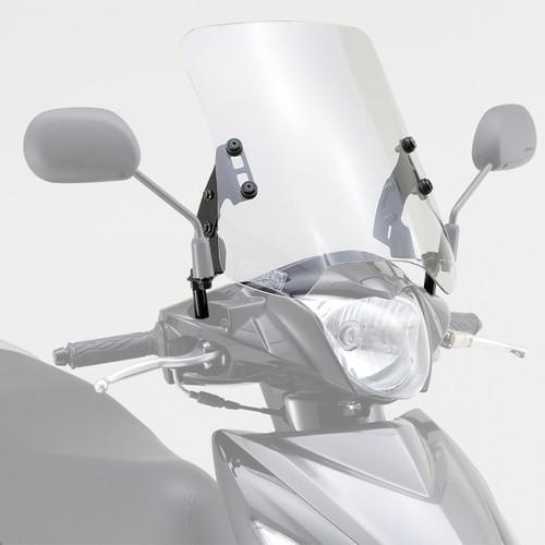 Windshield, HC Clear, Suzuki Address V110