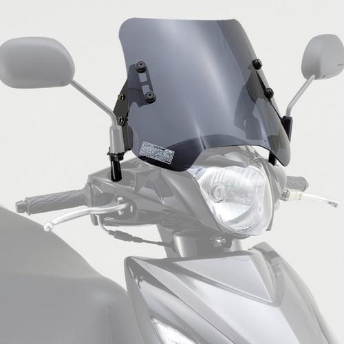 Windshield, HC Smoked, Suzuki Address V110