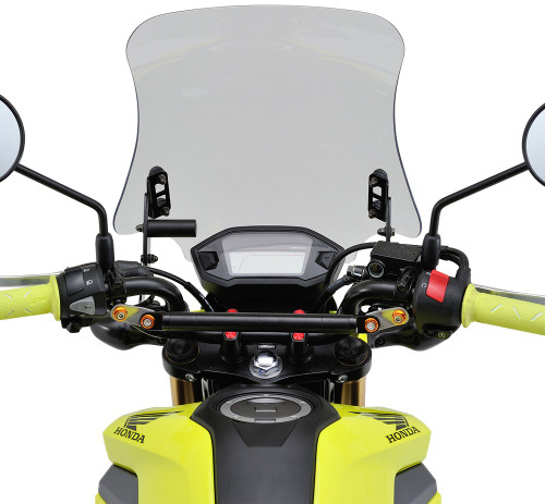 Windshield, RS Clear, Honda Grom 16