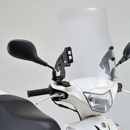 Windshield, RS Clear, Suzuki Address V125