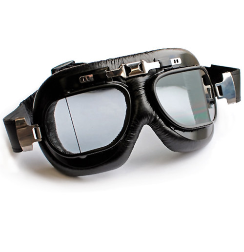 Street Hawke Motorcycle Goggle - Classic Flying Goggles, Cafe Racer, CLOSEOUT SALE!
